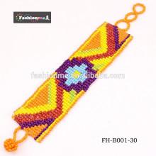Bem-vindo bracelete de madeira handmade OEM