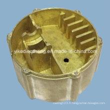 Pièce en laiton de moulage mécanique sous pression pour éclairage à Foshan