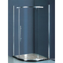 Sanitary Ware Tempered Glass Corner Shower Enclosure (H008)