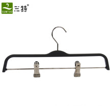 zara type ABS material bottom pants plastic hanger with clips