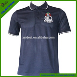 100%polyester short sleeve quick dry polo shirt