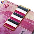 Business gift enamel replica money clip black
