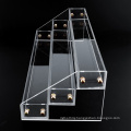 Multi Tier Clear Acrylic Display Stand for Little Bottles
