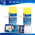 Party snow spray for wedding and Christmas decoration