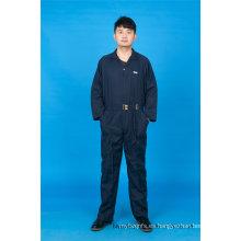 65% poliéster 35% algodón manga larga seguridad ropa de trabajo barata (BLY1018)