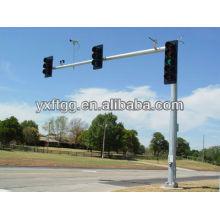 2015 meistverkaufte Stahl verzinkt Monitor Pole, Verkehrszeichen mit Stahlmast
