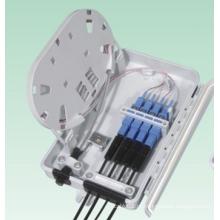 Caixa de terminais de fibra óptica (1splitte 4)
