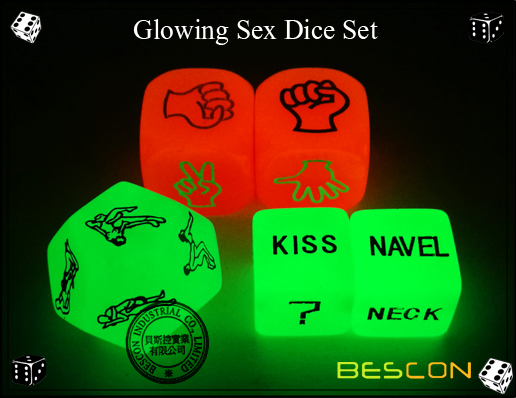 Glowing Sex Dice Set-4