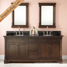 Free Standing European Style Stain Finshing Bath Vanity