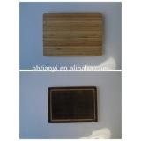 black bamboo curtting board