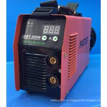 Máquina de soldadura de MMA IGBT con pantalla táctil (IGBT-200H)