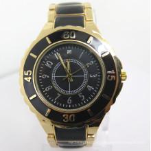 Reloj de la manera del reloj de la aleación de los hombres, reloj caliente barato de la venta (HL-CD044)