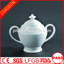 2014 hot sale wholesale elegant porcelain sugar jug sugar pot