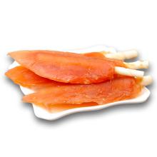 Dried Chicken Jerky Crystal Slice Wrap Rawhide Roll Treats Dog