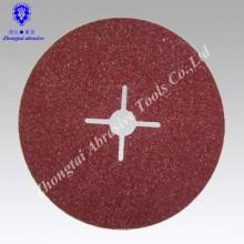 Disco de lijado de resina de fibra de amoladora de óxido de aluminio LION del norte para acero inoxidable