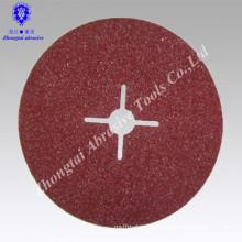 North LION Aluminum Oxide Grinder Fiber Resin Sanding Disc for stainless steel