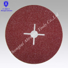 Disco de lixamento da resina da fibra do moedor de óxido de alumínio norte do leão para de aço inoxidável