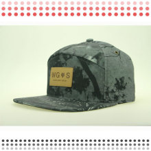 2016 Изготовленный На Заказ Пустой Плоский Brim 6 Панелей Крышка Snapback Шляпа