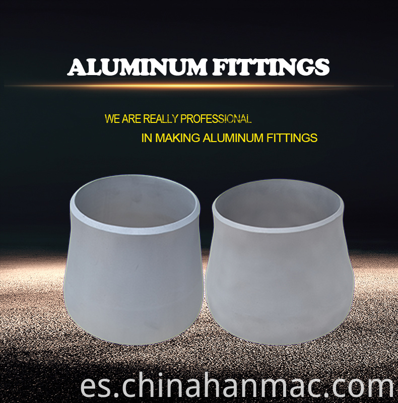 Aluminum steel Reducer fitting
