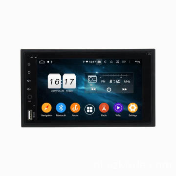 Android 2 din universele 6.2 inch auto dvd gps
