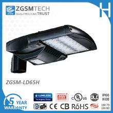 Luz del estacionamiento de 65W LED con 1-10VDC que oscurece