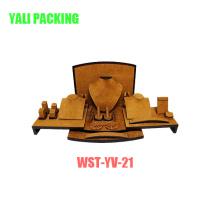 Mdfcotaed желтый бархат ювелирные изделия Дисплей костюм производителя оптом (РМО-УУ-21)