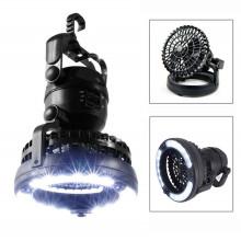 Lanterne de camping LED portable avec ventilateur de plafond
