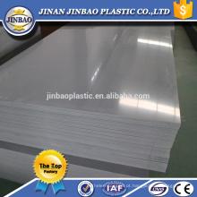 1220x2440mm 2mm melhor preço cor branco cinza folha rígida pvc