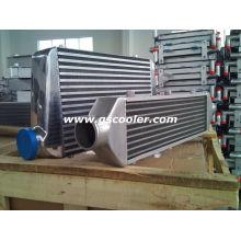 Intercooler de aluminio para el coche de competición