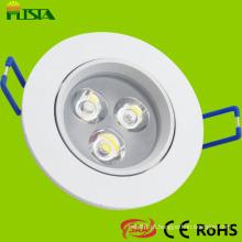 3W LED teto luz com aprovação de SAA CE RoHS (ST-CLS-B01-3W)