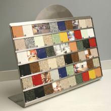 Мозаичная Плитка Образец Доски Стеллаж Для Выставки Товаров