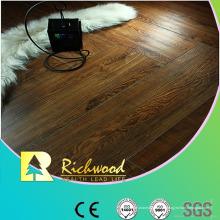 12 mm HDF en relieve Hickory encerado filo piso Lamiantado