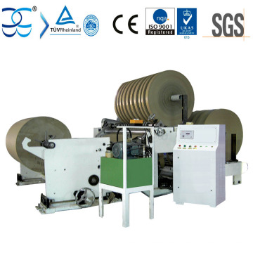 Rebobinadora y cortadora de papel Kraft de fácil operación
