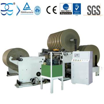 Легкая эксплуатация Kraft Paper Rewinder и Slitter Machine