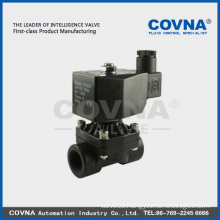 pilot operated PP electric solenoid water valve