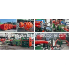 Hdpe Corrugated Optic Duct (cod) Production Line