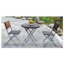 Роскошная прочная легкая очистка 60 см круглый складной стол