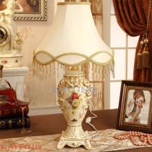 Luces de mesa clásicas europeas de la lámpara del escritorio de las mercancías caseras del estilo