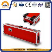 Алюминиевый чемодан для хранения инструментов с вставкой из мягкого пенопласта