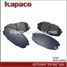 Hi-q Semi-metallic Brake Pad for HYUNDAI KIA D1295 58101-1DA00