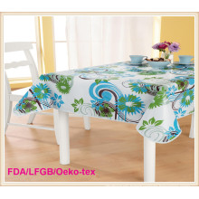 PVC Tablecloth with Flannel Backing (TJ0063)