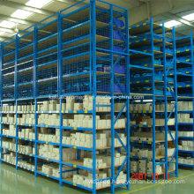 Steel Multi-Tier Shelf for Industrial Warehouse Storage