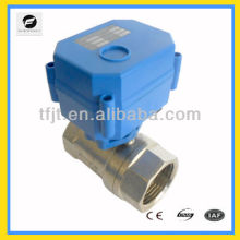 "miniature 1"" DC 24V electric control operated ball valve for Irrigation equipment,drinking water equipment"
