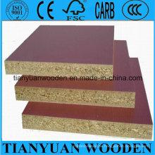 Holzkorn konfrontiert Span Board / Spanplatte