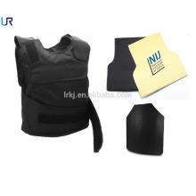 cheap level 4 military ballistic vip teflon kevlar bulletproof vest with plates