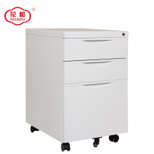 26-year experienced Huadu furniture 3 drawer mobile metal pedestal cabinet