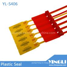Sellos de plástico de alta resistencia con código de barras impreso (YL-S406)