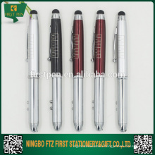Metal Laser Pointer Pen With Light And Stylus