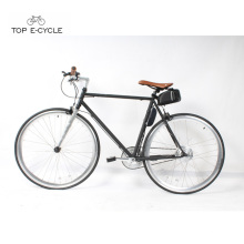 700c Stahlrahmen elektrische Singlespeed Fahrrad Single Speed ​​Fixed Gear Bike
