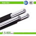 Herstellung Direktverkauf 0.6 / 1kv Aluminiun Core XLPE isolierte ABC-Kabel